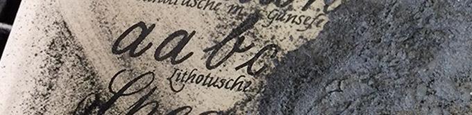 Werkstattkurs Lithographie