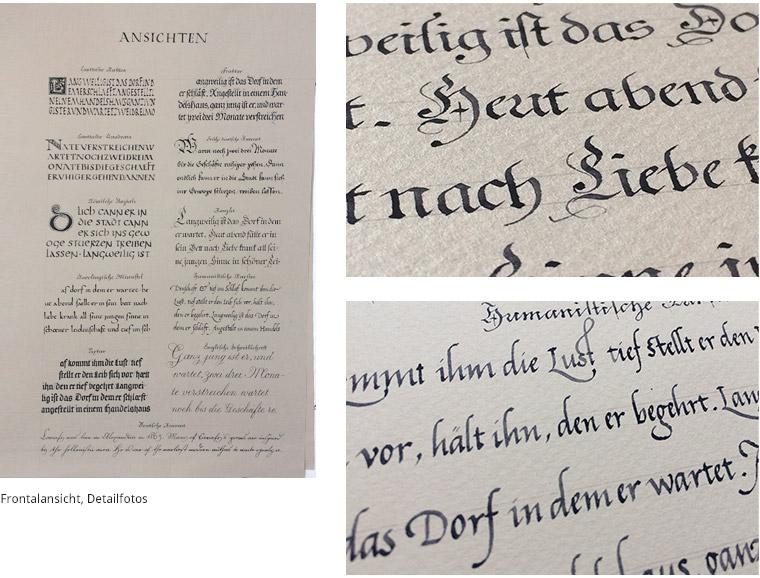 Schriftenposter Reloaded Details