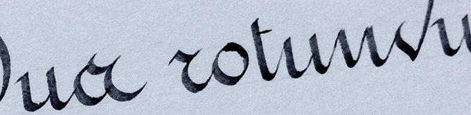 French writing Thumb