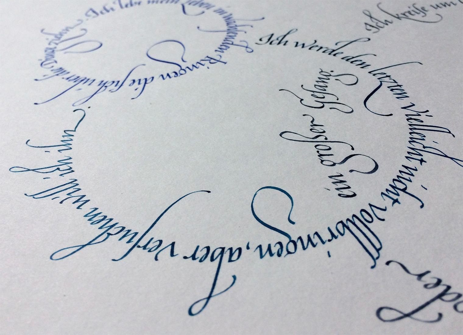 Kreise Rilke Gedicht Detail2