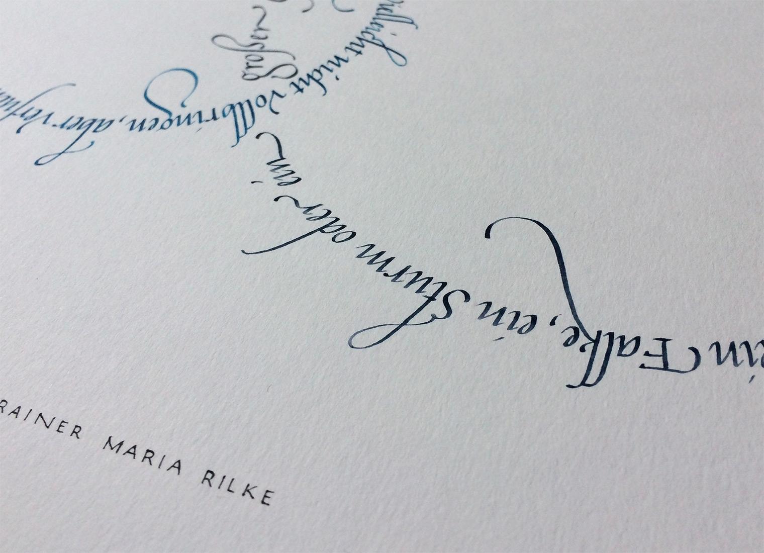 Kreise Rilke Gedicht Detail4